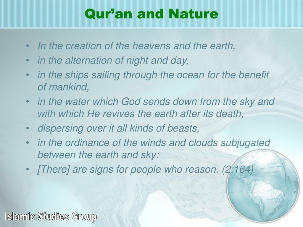 Qur'an and Nature