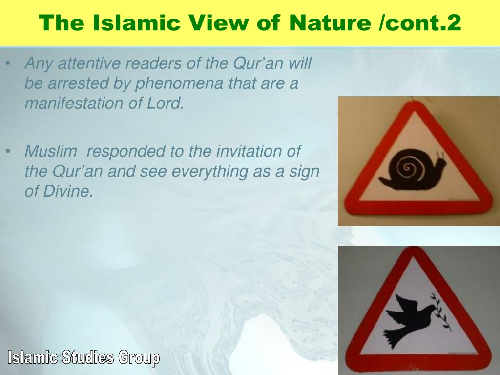 The Islamic View of Nature