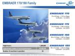 embraer 170 190 family