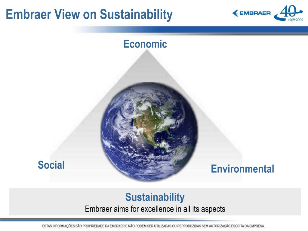 Embraer View on Sustainability