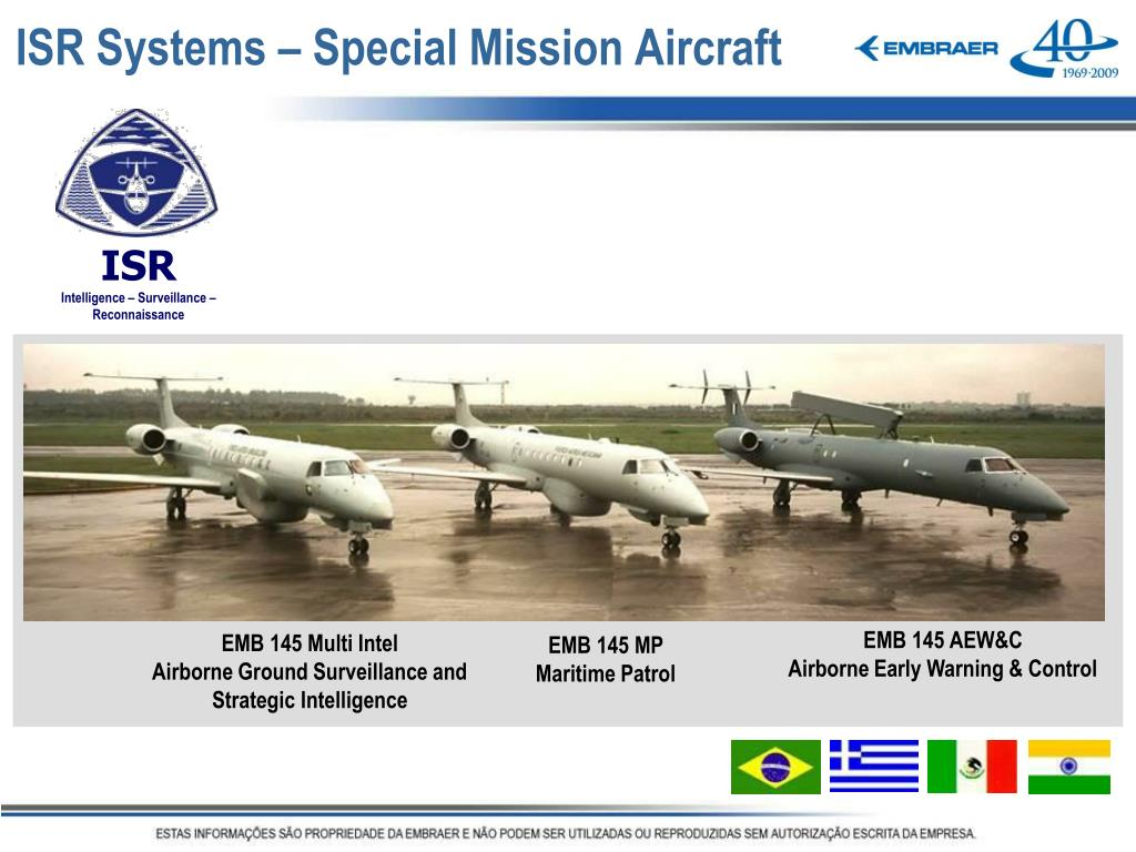 ISR Systems – Special Mission Aircraft