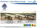 isr systems special mission aircraft