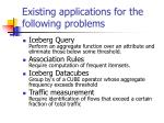 existing applications for the following problems