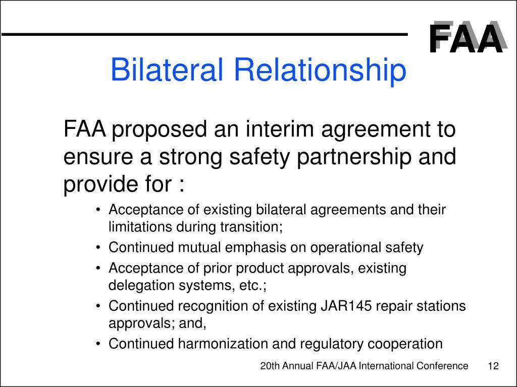 Bilateral Relationship