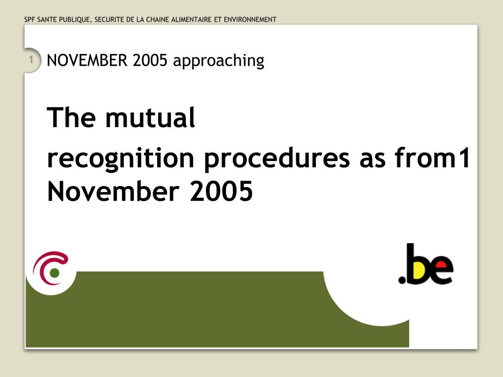 NOVEMBER 2005 approaching