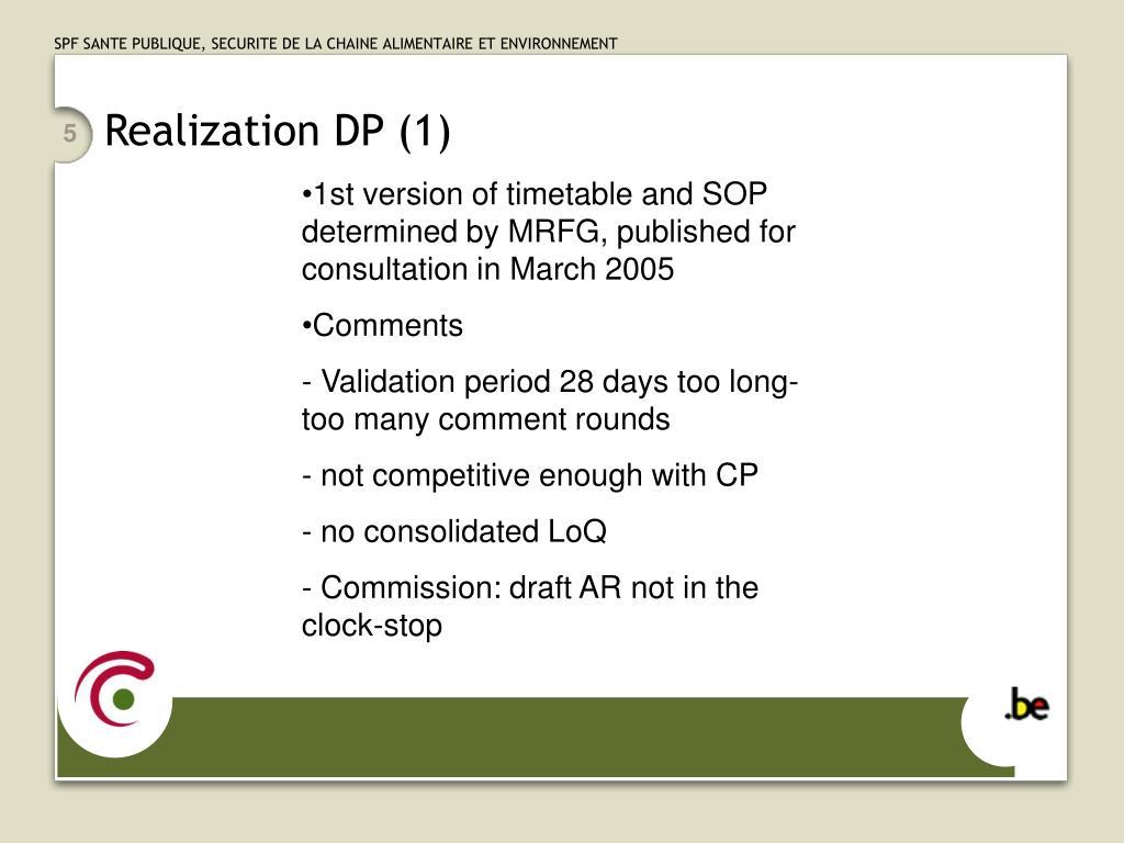Realization DP (1)