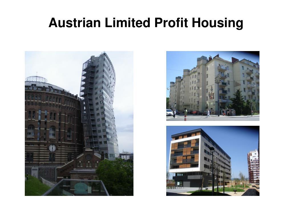 Austrian Limited Profit Housing