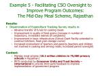 example 5 facilitating cso oversight to improve program outcomes the mid day meal scheme rajasthan