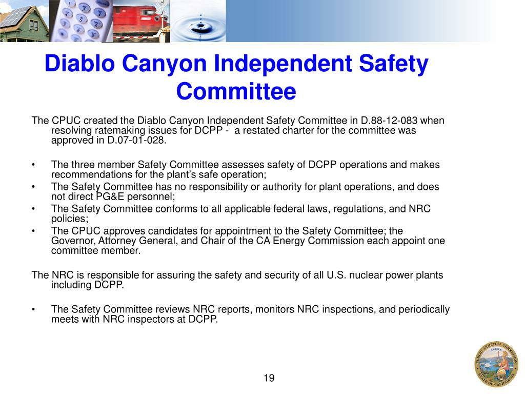 Diablo Canyon Independent Safety Committee