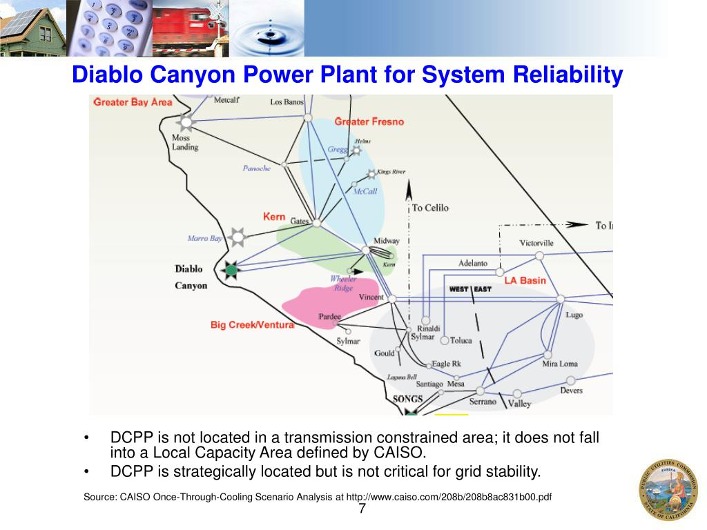 Diablo Canyon Power Plant for System Reliability