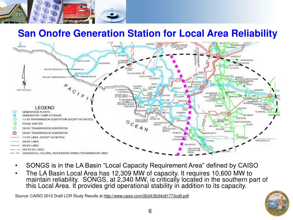 San Onofre Generation Station for Local Area Reliability
