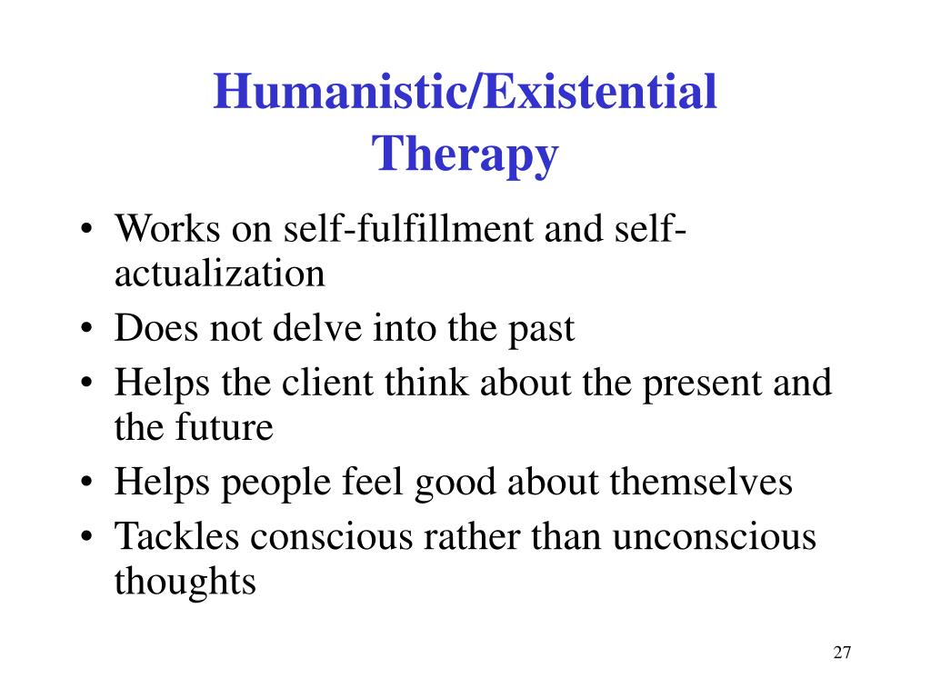 Humanistic/Existential