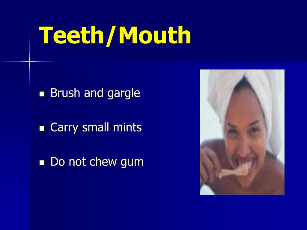 Teeth/Mouth