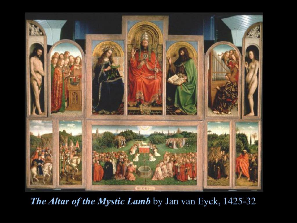 The Altar of the Mystic Lamb