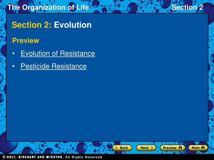 Section 2 evolution2