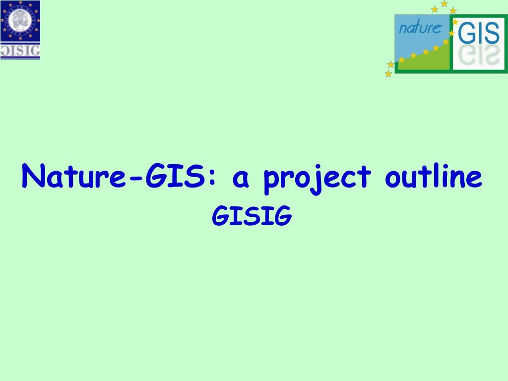 Nature-GIS: a project outline