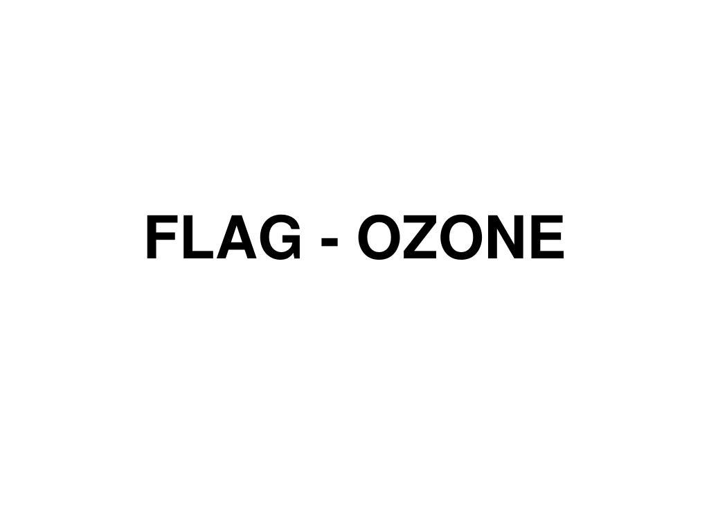 FLAG - OZONE