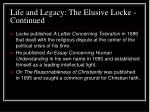 life and legacy the elusive locke continued4