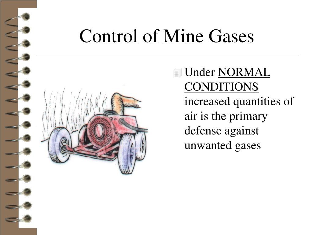 Control of Mine Gases