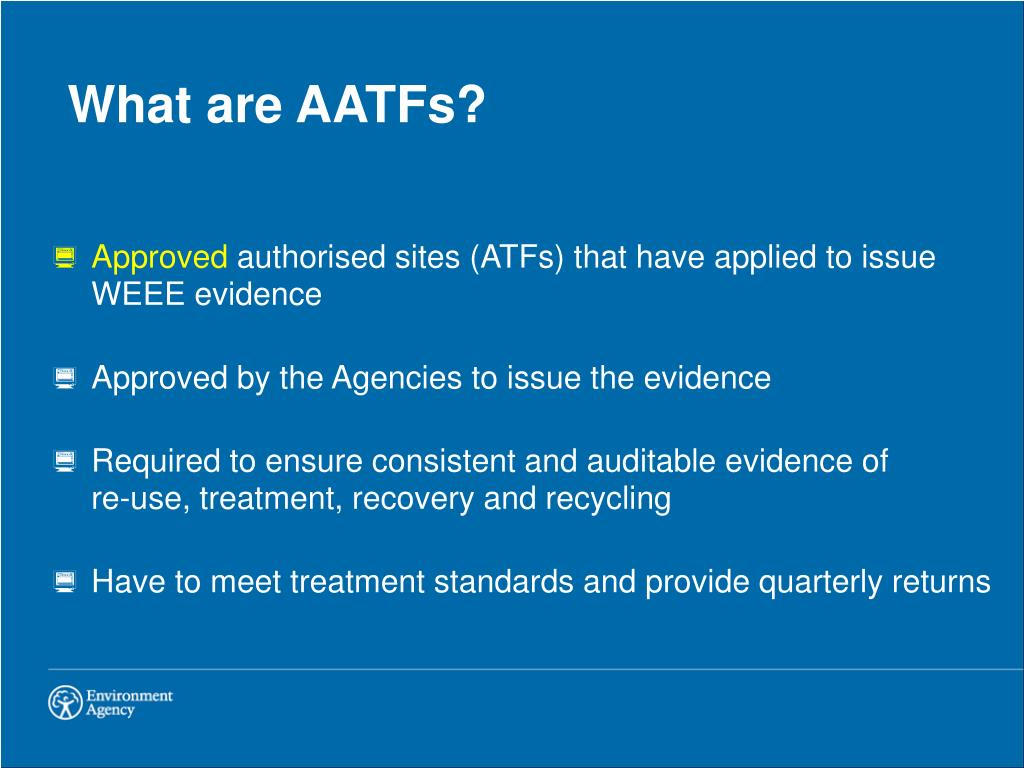 What are AATFs?