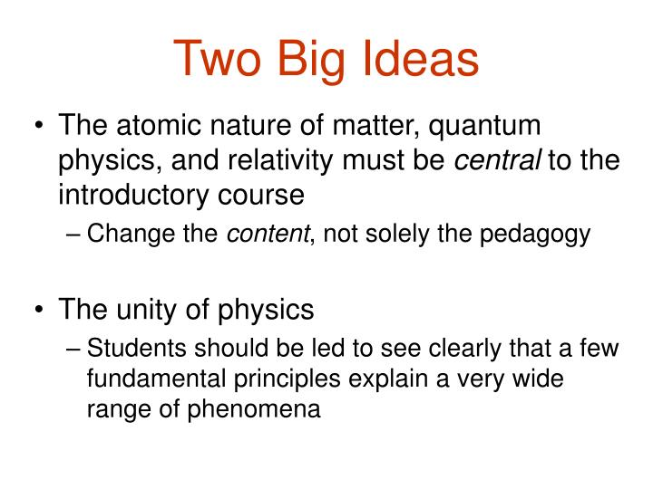 Two big ideas l.jpg