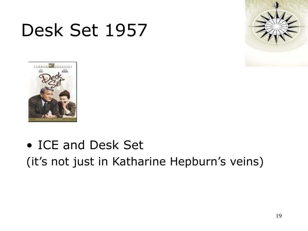 Desk Set 1957