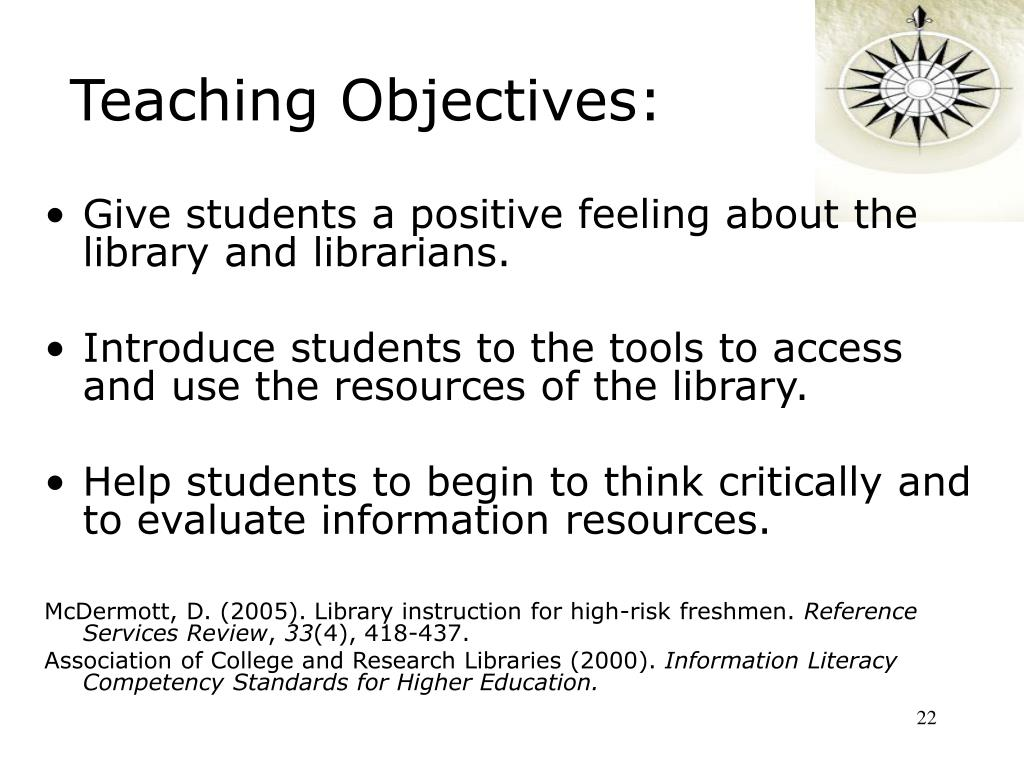Teaching Objectives: