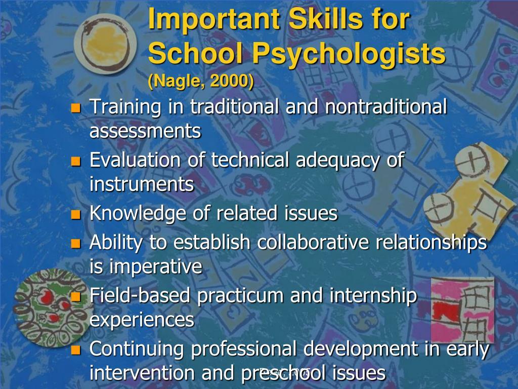 Important Skills for School Psychologists