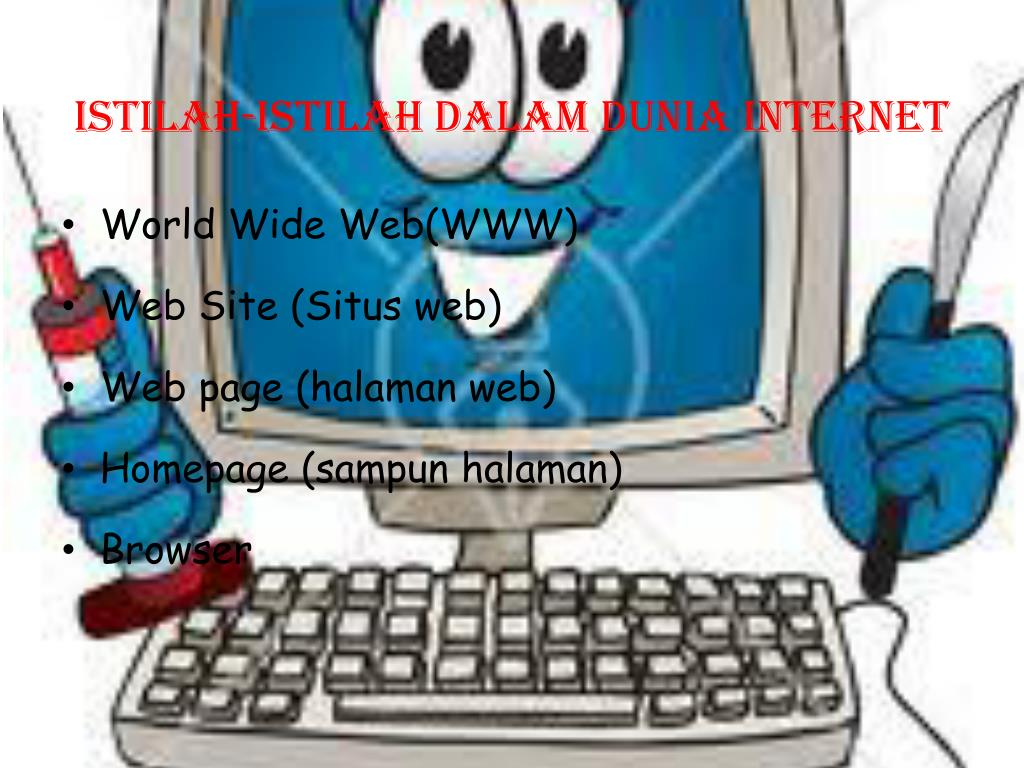 ISTILAH-ISTILAH DALAM DUNIA INTERNET