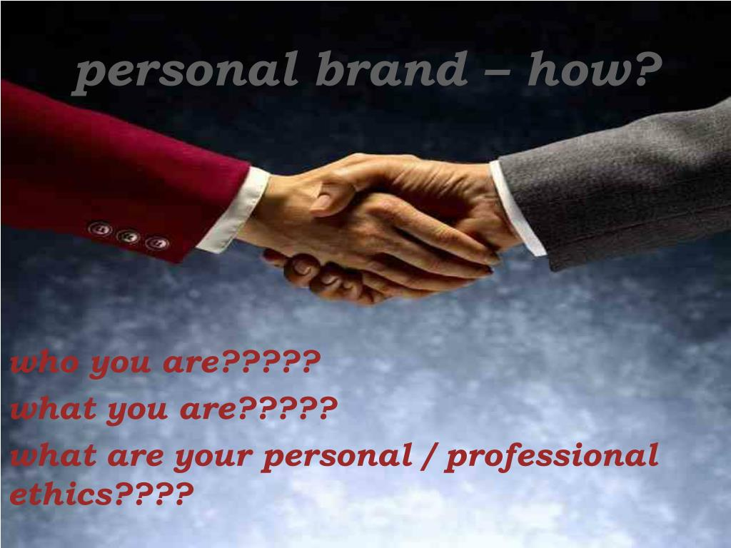 personal brand – how?