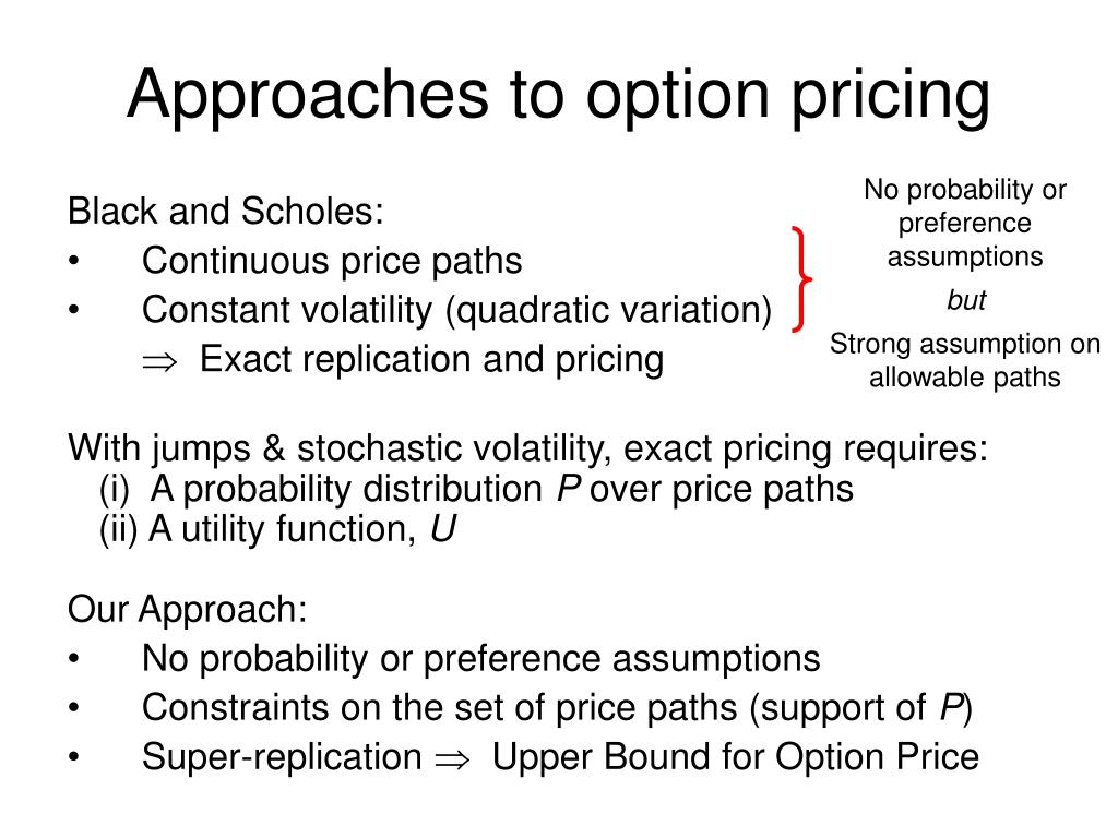 No probability or preference assumptions