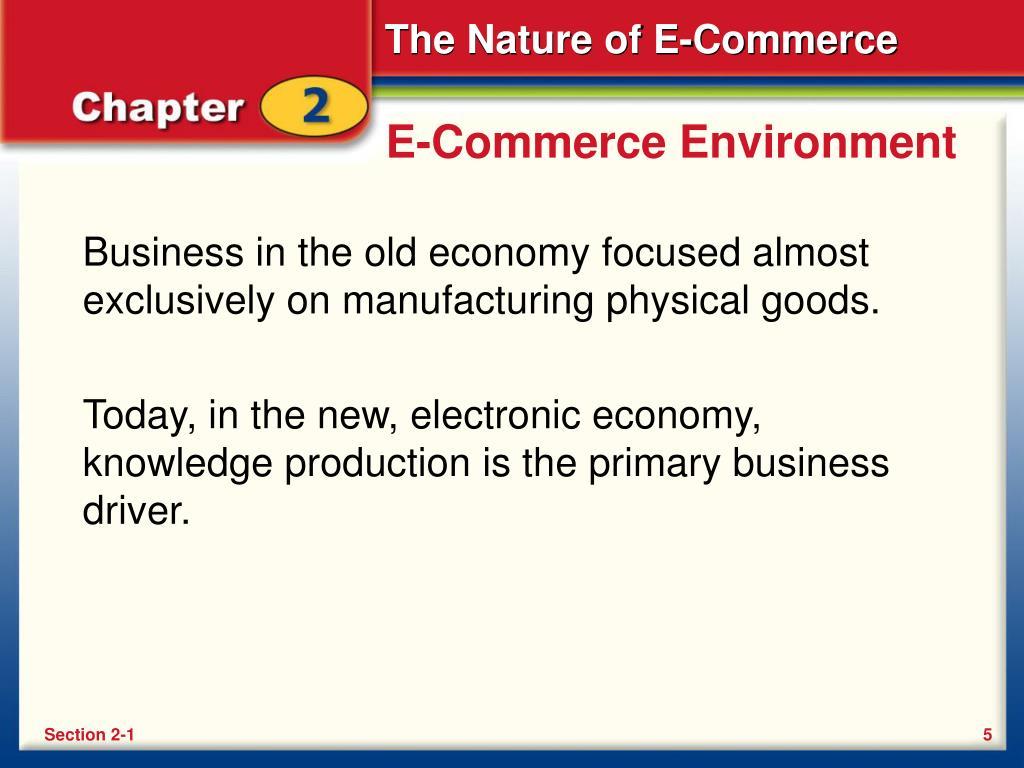 E-Commerce Environment