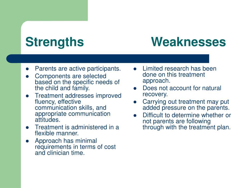 Parents are active participants.