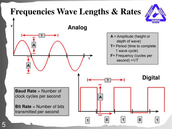 Frequencies Wave Lengths & Rates