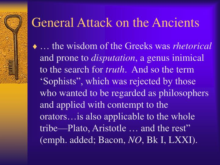 General Attack on the Ancients