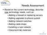 needs assessment27