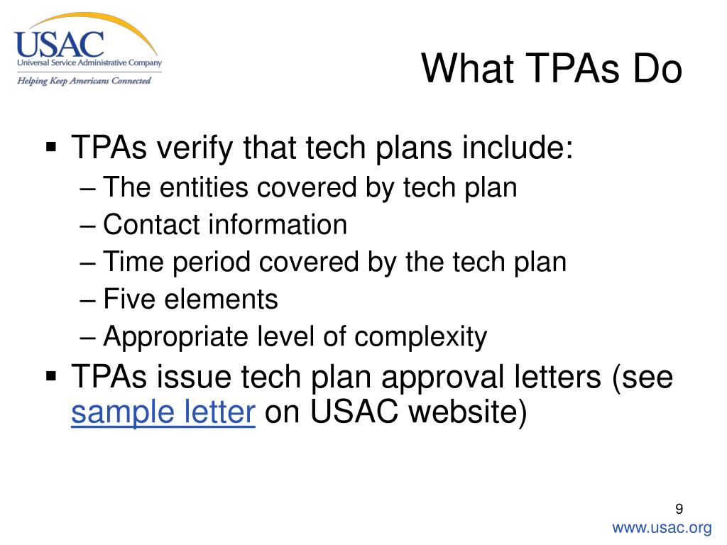What TPAs Do