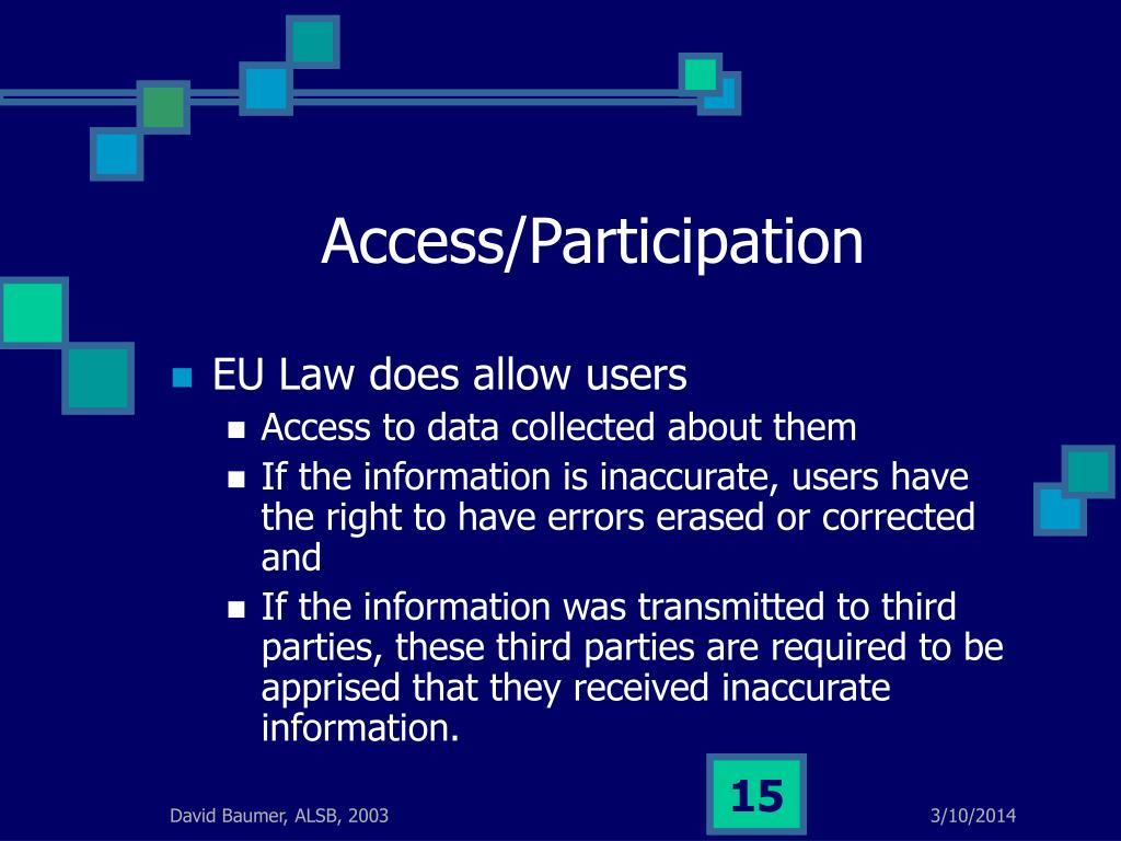 Access/Participation