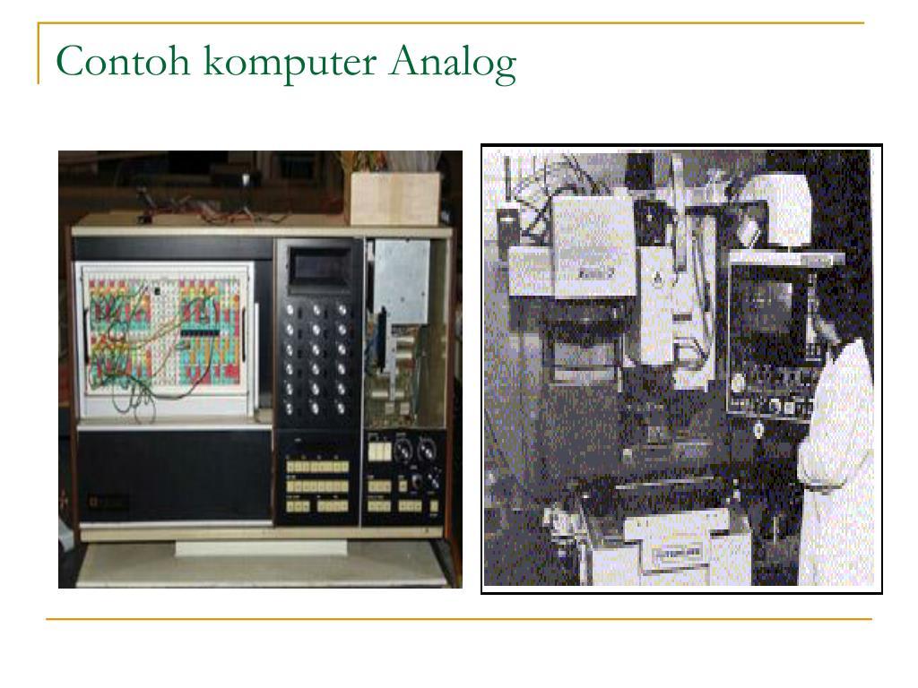 Contoh komputer Analog