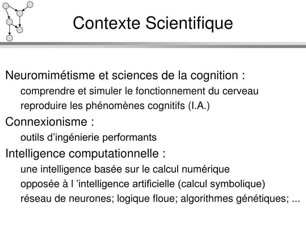 Contexte Scientifique