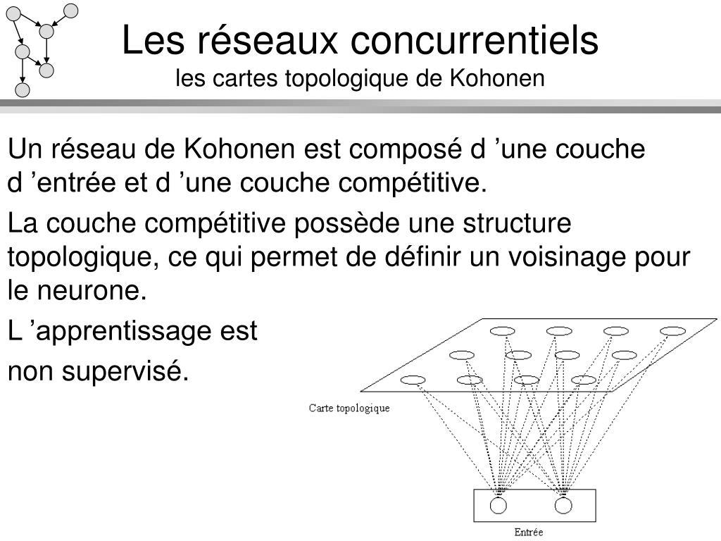 Les réseaux concurrentiels