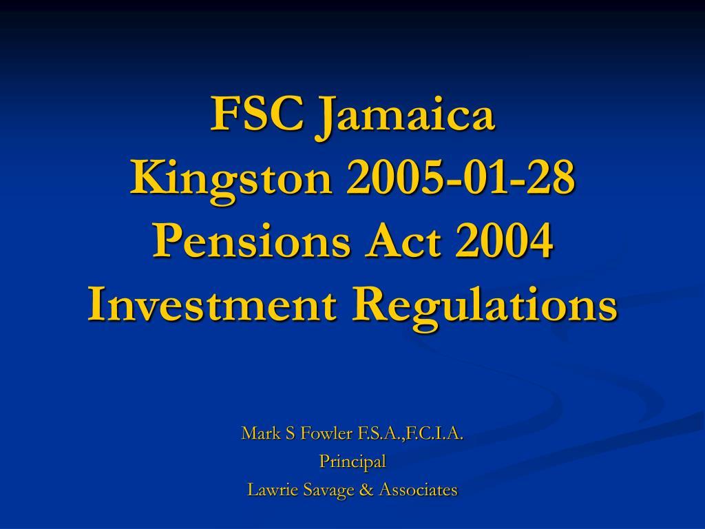FSC Jamaica