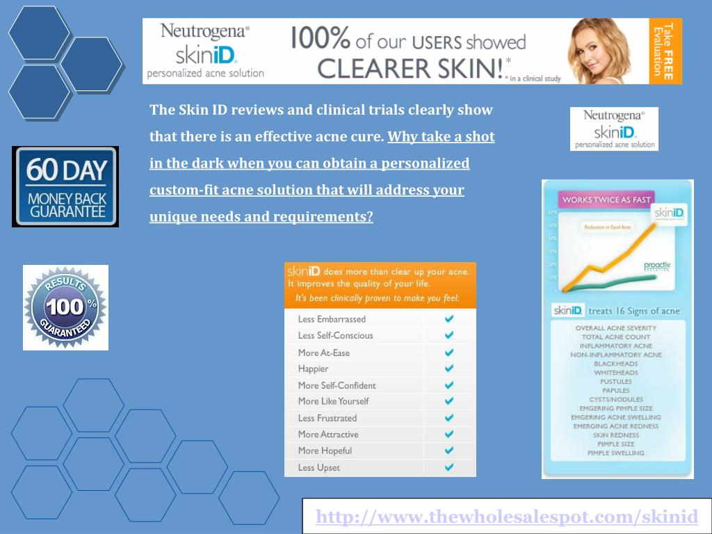 The Skin ID reviews and clinical trials clearly show that there is an effective acne cure.