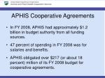 aphis cooperative agreements