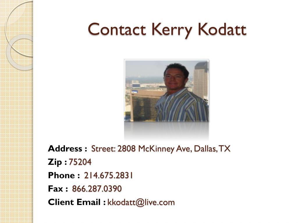 Contact Kerry Kodatt