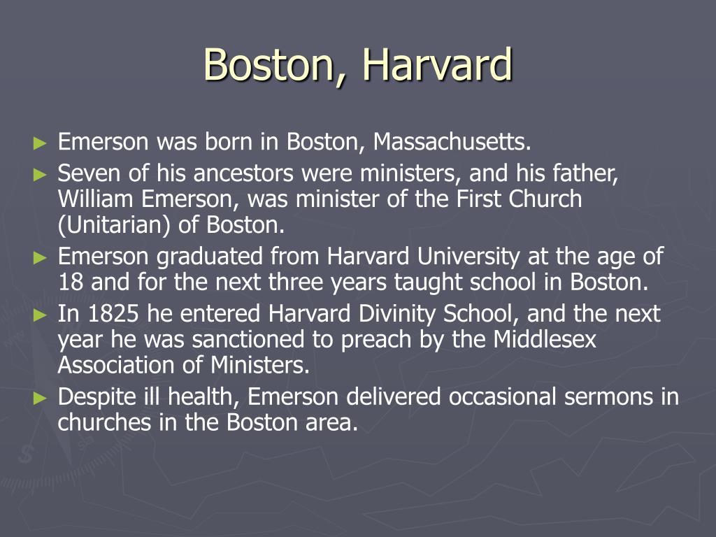Boston, Harvard