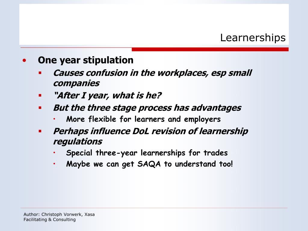 Learnerships