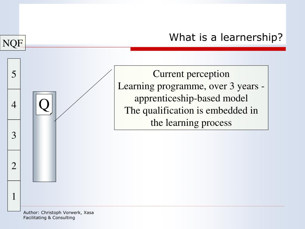 What is a learnership?