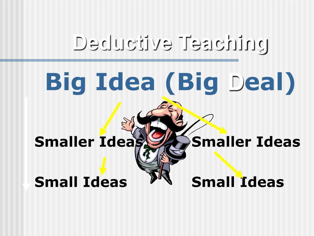 Deductive Teaching