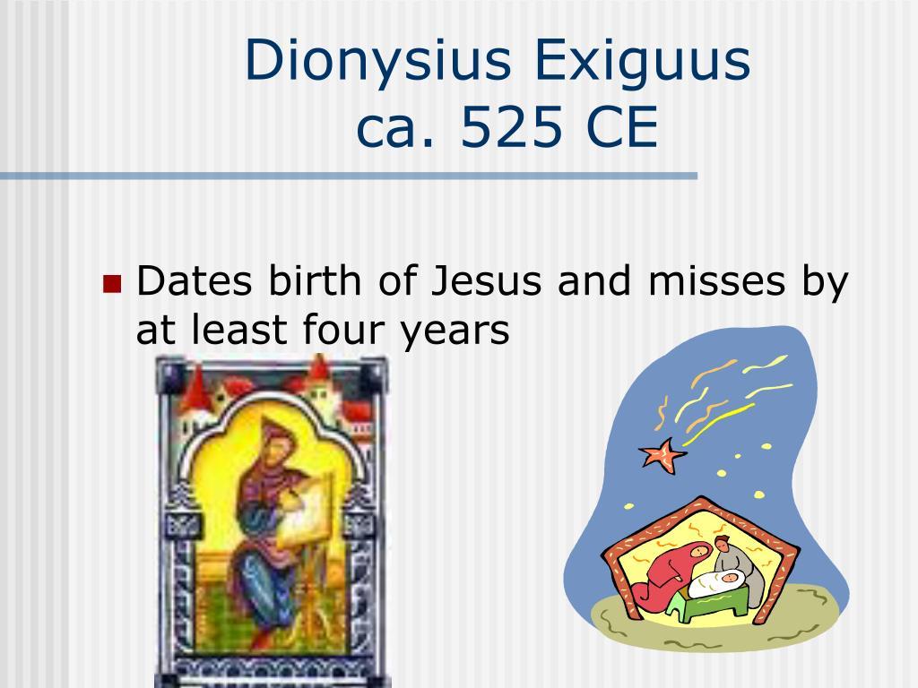 Dionysius Exiguus